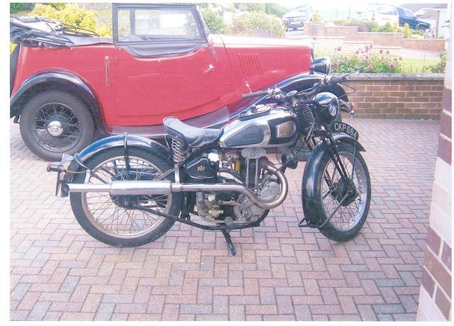 1936 AJS 245cc Model 22 Frame no. 2051 Engine no. 36/22 1702