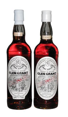 Glen Grant- 1965  Glen Grant- 1964