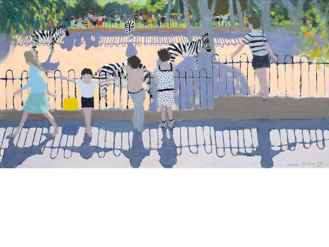 Andrew Macara (British, born 1944) Chester Zoo