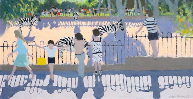 Andrew Macara (British, born 1944) Chester Zoo