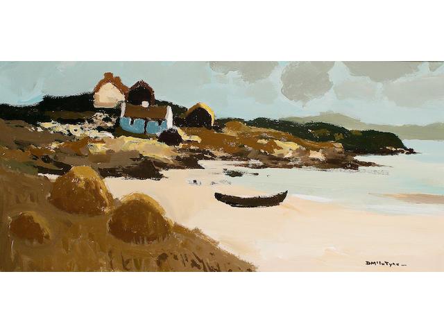 Donald McIntyre (British, 1923-2009) 'Curragh, Mannin Bay'