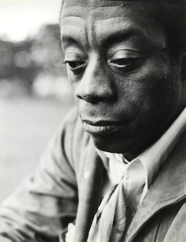 BALDWIN (JAMES) GERSON (MARK) Portrait of James Baldwin