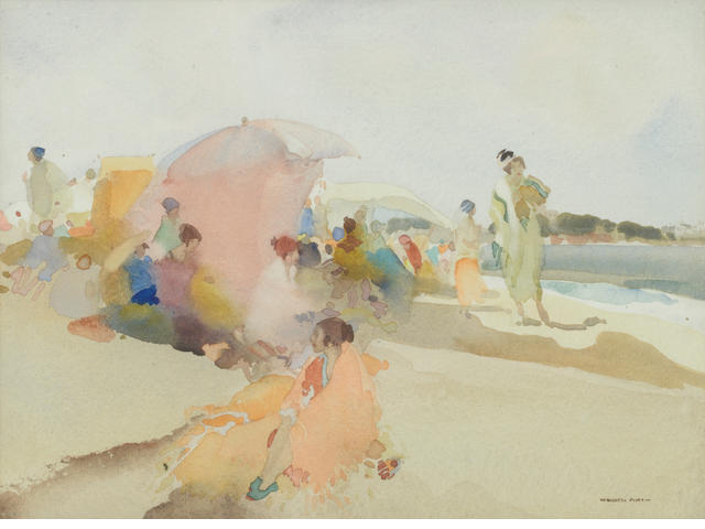 Sir William Russell Flint R.A., P.R.W.S. (British, 1880-1969) Celebrities 24 x 33 cm. (9 1/2 x 13 in.)