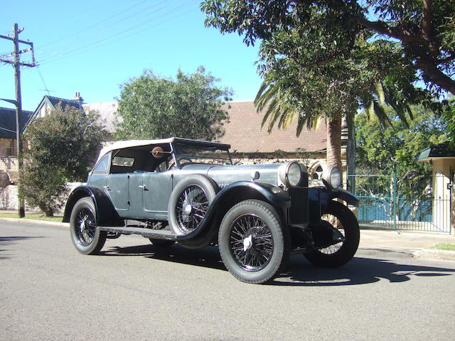 1928 Sunbeam 20.9 HP Light Sports Tourer  Chassis no. 2524G Engine no. 2522G