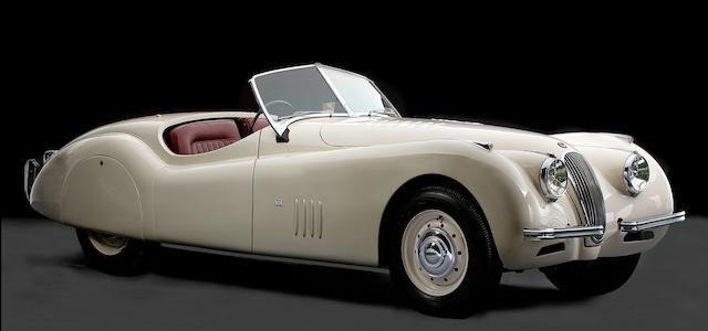 1949 Jaguar XK 120 Alloy Roadster  Chassis no. 660017 Engine no. W1038-7