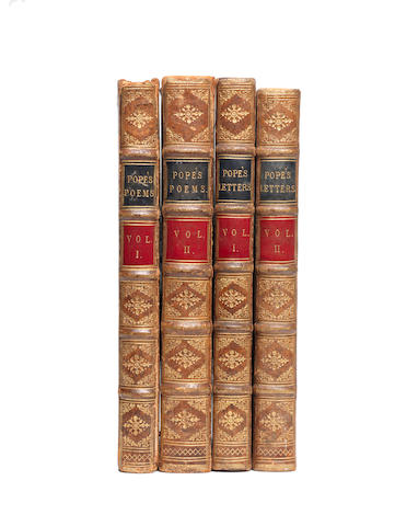 POPE (ALEXANDER) The Works, 4 vol.