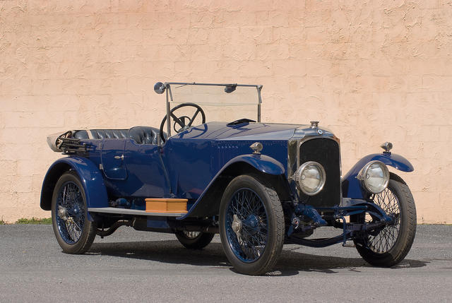 1923 Vauxhall 30-98 Velox Tourer  Chassis no. OE56 Engine no. OE56