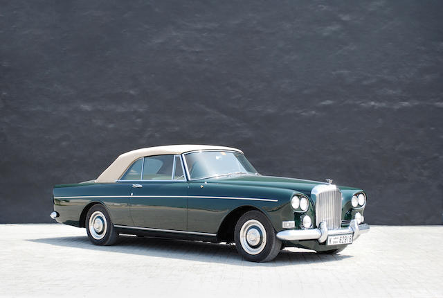 65The ex-Alfred H Heineken,1965 Bentley S3 Continental Coupé  Chassis no. BC98LXE Engine no. 49EBC