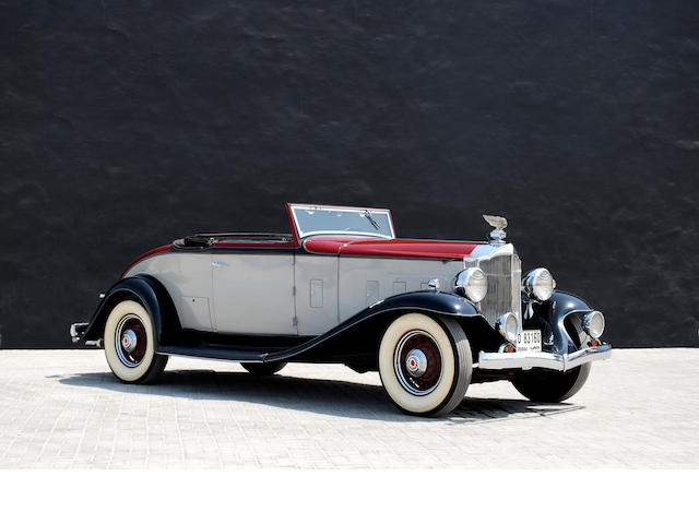 1932 Packard Model 900 'Light Eight' Coupe Roadster with Rumble Seat  Chassis no. 55986 Engine no. 361793