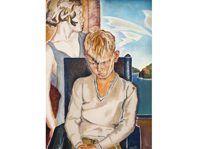 (n/a) Hortense Mattice Gordon (Canadian, 1887-1961) ALONE