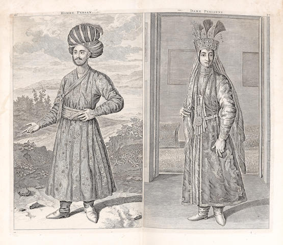 LE BRUN (CORNELIUS) Travels into Muscovy, Persia, and Part of the East-Indies, 2 vol.