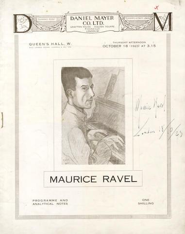 RAVEL (MAURICE)
