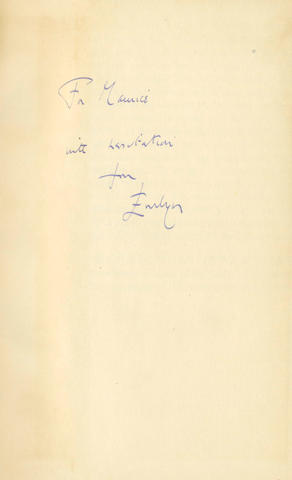 WAUGH (EVELYN) Helena, FIRST EDITION, AUTHOR'S PRESENTATION COPY