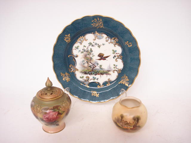 A small collection of Royal Worcester