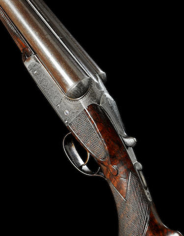 John Deeley Juniors Gun The first 12-bore single-trigger boxlock ejector gun by Westley Richards, no. 13337