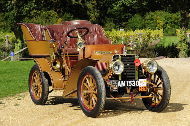 1903 Sunbeam 10/12hp Rear Entrance Tonneau,NOT TO BE ADVERTISED UNTIL STEWART SKILBECK ADVISES.