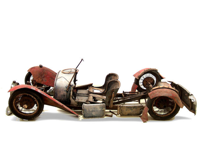 1926 Bugatti Type 38 (Restoration Project)  Chassis no. 38195 Engine no. (Was 87)