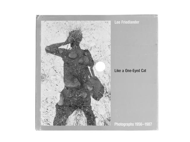 Lee Friedlander (American, born 1934) Like A One-Eyed Cat, Photographs 1956-1987  29.8 x 31.3cm (11 3/4 x 12 5/16in).