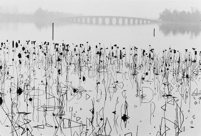 René Burri (Swiss, born 1933) Summer Palace, Kunming Lake, near Beijing, China, 1964