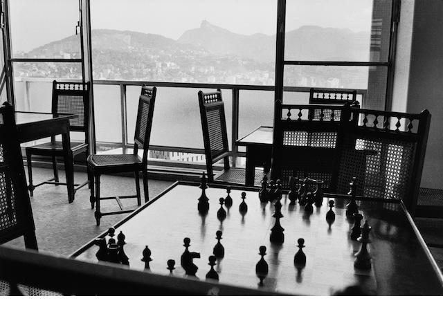 René Burri (Swiss, born 1933) View from the offices of O Cruzeiro Magazine, Rio de Janeiro, Brazil, 1958 Paper 40.1 x 50.2cm (15 3/4 x 19 3/4in), image 28 x 41.7cm (11 x 16 3/8in).