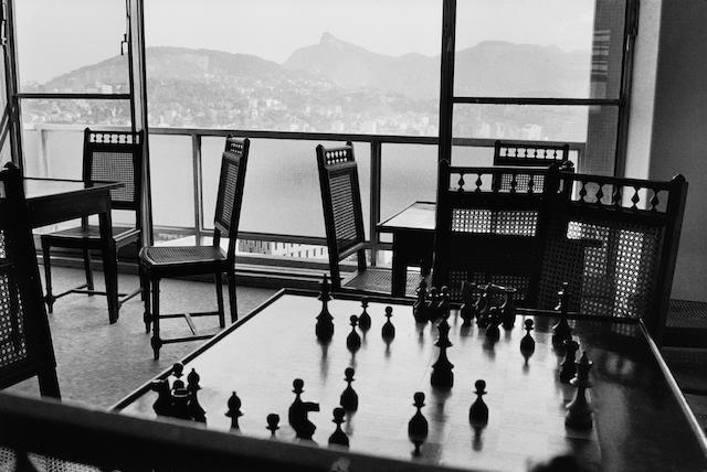René Burri (Swiss, born 1933) View from the offices of O Cruzeiro Magazine, Rio de Janeiro, Brazil, 1958 Paper 40.1 x 50.2cm (15 3/4 x 19 3/4in), image 28 x 41.7cm (11 x 16 3/8in).