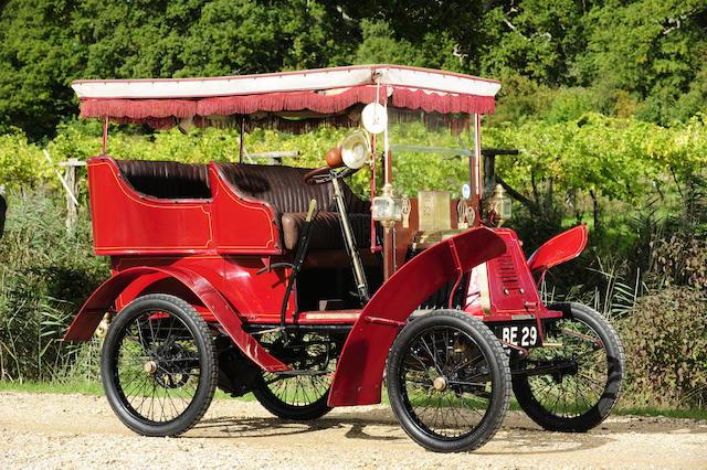 1901 Renault 4 1/2 Tonneau