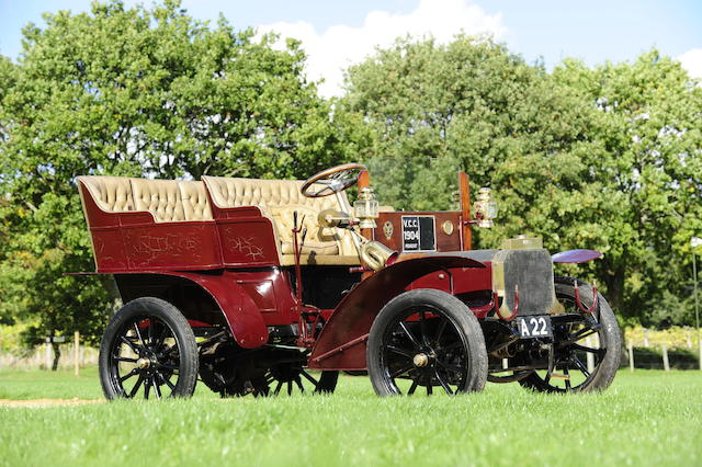 In current ownership since 1963,1904 Peugeot 9hp Twin-cylinder Rear-entrance Tonneau  Chassis no. AF5604