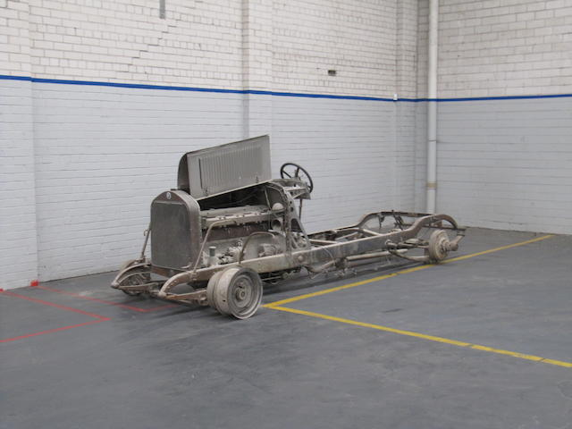 c.1922 Isotta-Fraschini Tipo 8 restoration project  Chassis no. See text Engine no. 124