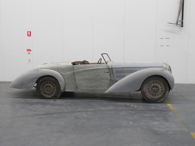 c.1949 Delahaye 135M Cabriolet (Restoration project)  Chassis no. See text Engine no. 800816