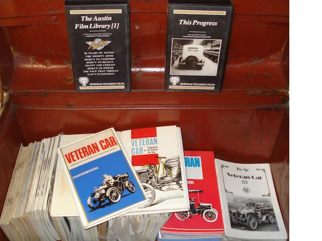 Assorted issues of Veteran Car Club Gazette,