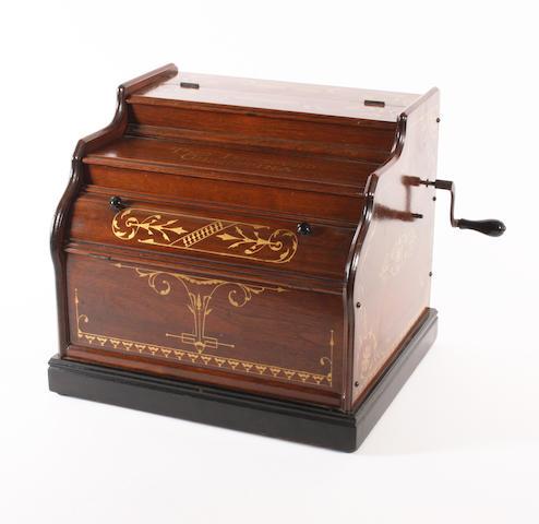 A Victorian gilded mahogany celestina,