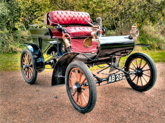 1903 Oldsmobile Model R 'Curved Dash' Runabout  Engine no. 16150