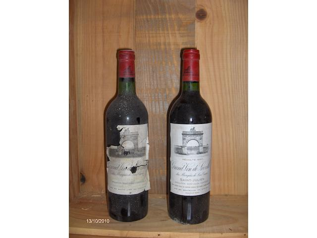 Chateau Leoville Las Cases 1975 (1)<BR>Chateau Leoville Las Cases 1982 (1)