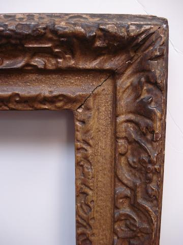 An English 18th Century carved and gilded frame