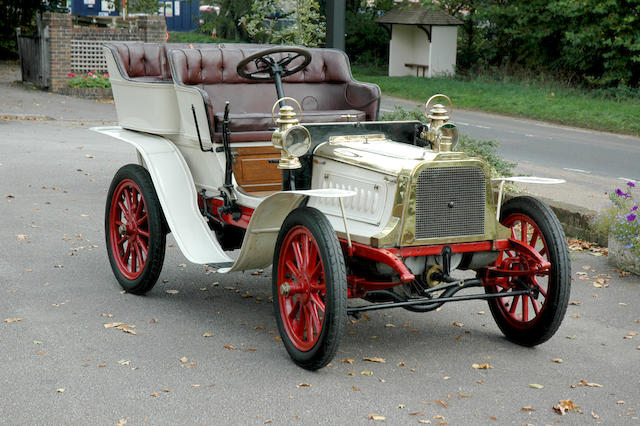 1904 Clément-Bayard 9/11hp Type AC2K Twin-Cylinder Rear-Entrance Tonneau  Chassis no. 6022 Engine no. 2113