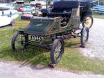 1904 Stanley Model CX 8hp Runabout   Chassis no. 1017  Engine no. 0271