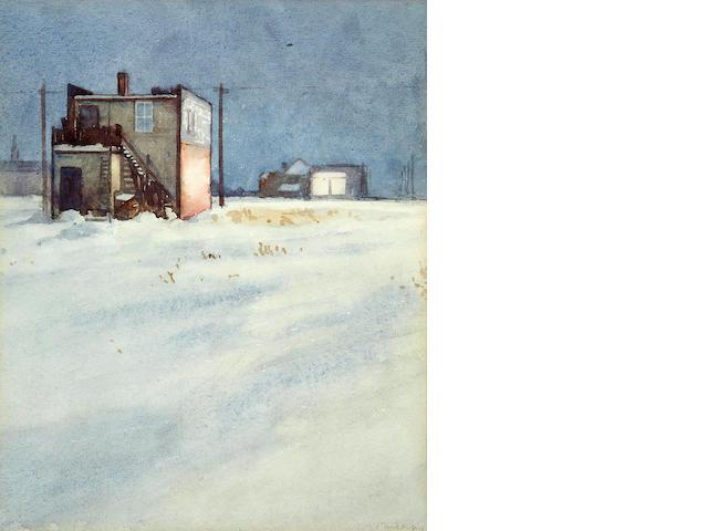 Walter Joseph Phillips, RCA, ASA, CSPWC (Canadian, 1884-1963) The Corner Store