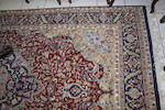 A pair of Indian rugs,in the Persian Tabriz style, 287 x 182 cms and two machine made rugs (4)