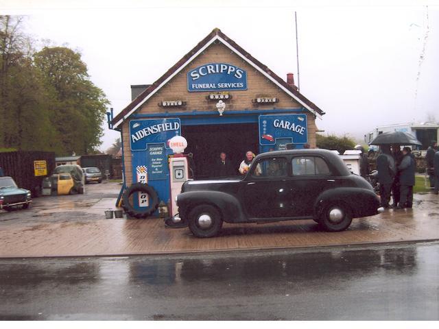 1949 Vauxhall Wyvern,