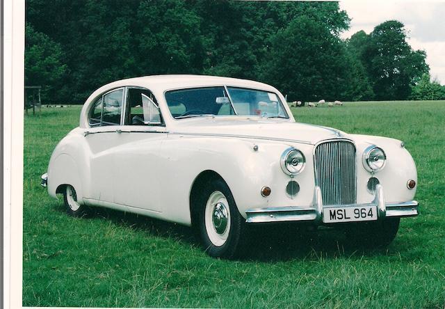 1955 Jaguar MkVII,
