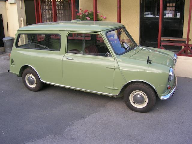 5e142f4928 Bonhams   1963 Austin Minivan Chassis no. AAV7361743 Engine no. 473574