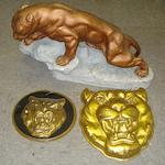 Three Jaguar display items,
