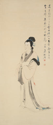 Zhang Daqian (1899-1983)  Queen Mother of the West