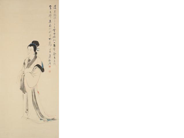 Zhang Daqian (1899-1983)  Queen Mother of the West