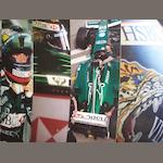 Assorted Formula 1 Jaguar promotional boards,
