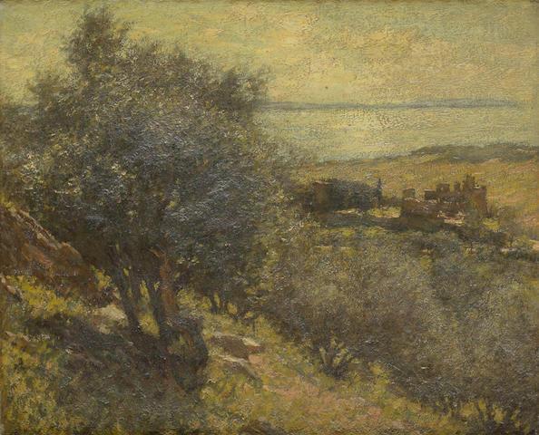 Henry Herbert La Thangue, RA (British, 1859-1929) A Mediterranean Island