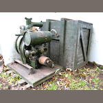 A Johnson Military water pump, late 1960s,