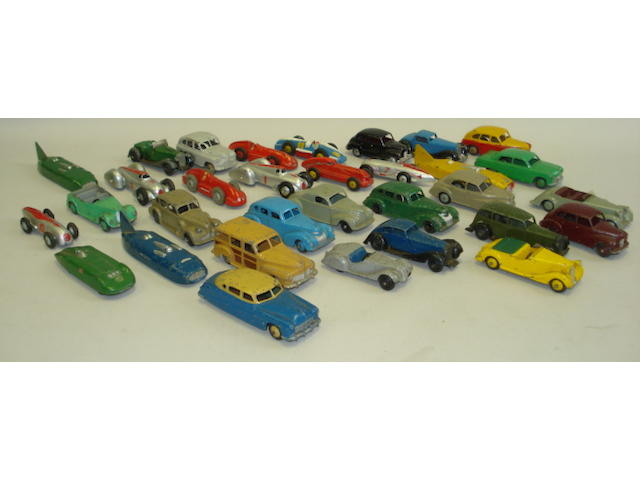Dinky early post-war cars approx 30
