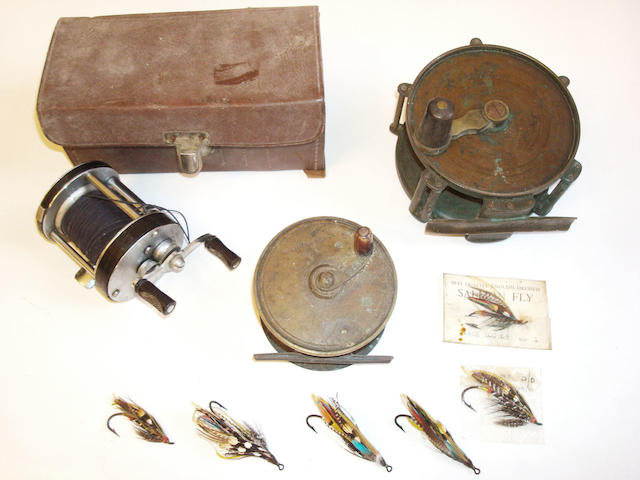 A quantity of assorted angling items