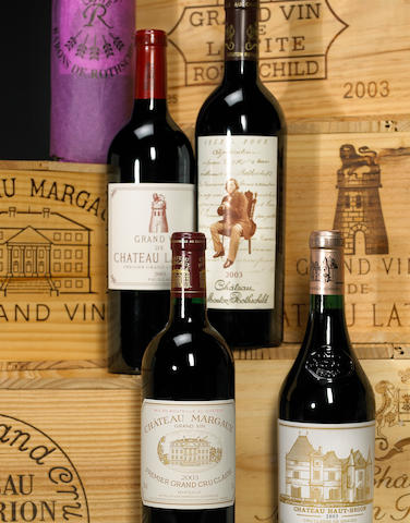 Superlot Chateau Lafite Rothschild 2003